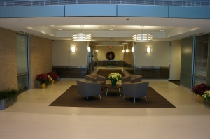 Lobby of Willow Bend Park Building