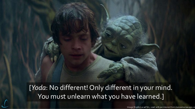 yoda luke diiferent quote